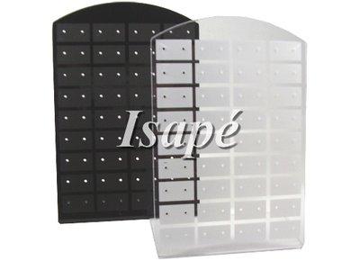 Display oorbellen (36 paar) zwart of wit